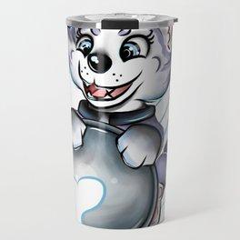 Sled Dog Everest Travel Mug