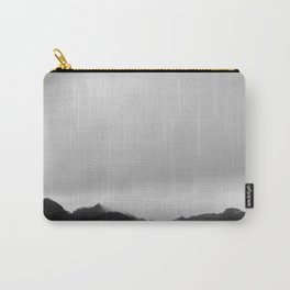 the gentle touch of clouds to hilltops Carry-All Pouch