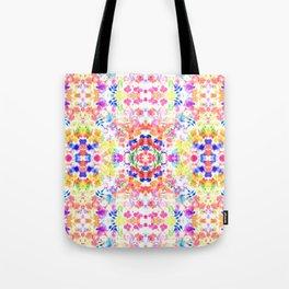 Floral Print - Brights Tote Bag