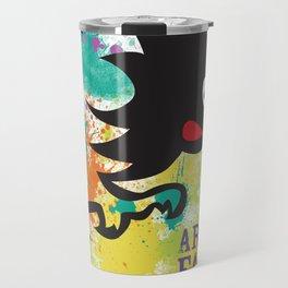 Splatter Art on the Farm Travel Mug