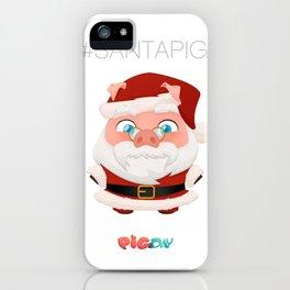 #Santa Pig iPhone Case
