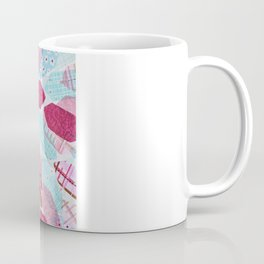 Patchwork-Collage Love Coffee Mug