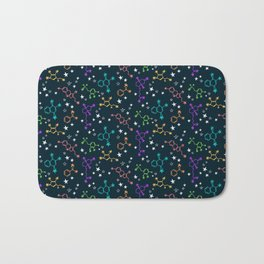 Molecule Galaxy Bath Mat