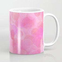 Pink Blush Dots Pattern Coffee Mug