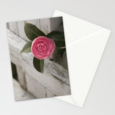 Pink Porch Flower Stationery Cards