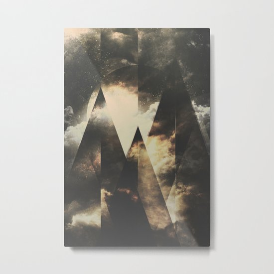The mountains are awake Metal Print