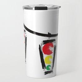 traffic lights Travel Mug