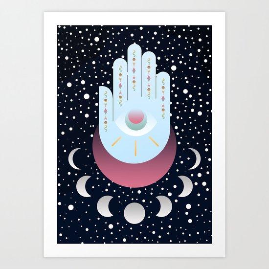 Delving into Magic Art Print