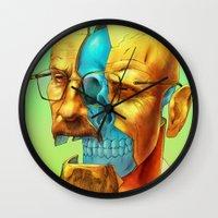 breaking Wall Clocks featuring Breaking Bad / Broken Bad by Mirco