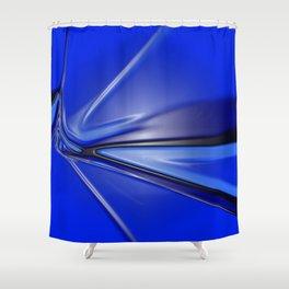Plastic Texture Study 006 Shower Curtain