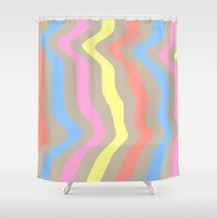 sassy Shower Curtains featuring Sassy Sass by Tyler Spangler