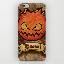 boom ! bomb iPhone Skin