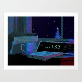 11:59 Art Print