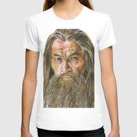 gandalf T-shirts featuring Gandalf by Labani