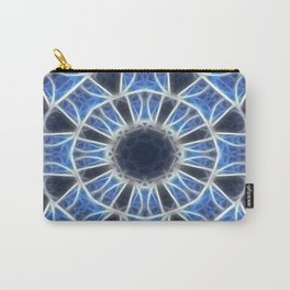 Blue Kaleidoscope 3 Carry-All Pouch