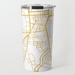 BELFAST UNITED KINGDOM CITY STREET MAP ART Travel Mug