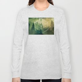 The Elements Geometric Nature Element of Earth Long Sleeve T-shirt