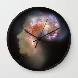 The Antennae Galaxies Wall Clock