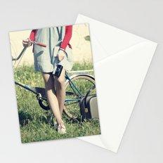 Vintage Biker Stationery Cards