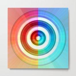 Colorcircle Metal Print