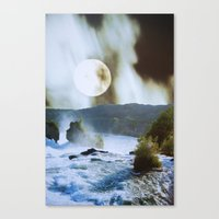 fog Canvas Prints featuring Fog by John Turck
