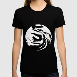 World's Threshold Black and White Marbling, Marbles Lost T-shirt