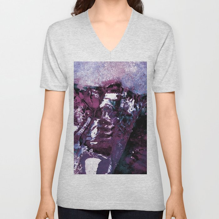 Mystic Encounter No.6P by Kathy Morton Stanion Unisex V-Neck