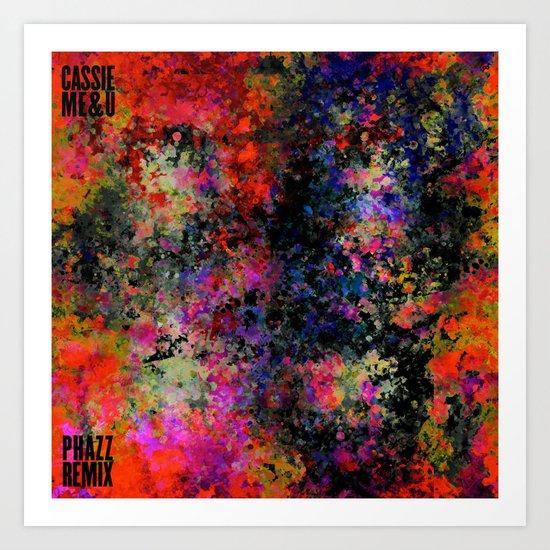 Cassie - Me & You (Phazz Remix) Art Print