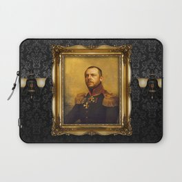 Simon Pegg - replaceface Laptop Sleeve