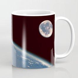 Earth and Moon Coffee Mug