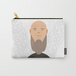 Old Ragnar Lodbrok-Vikings Carry-All Pouch