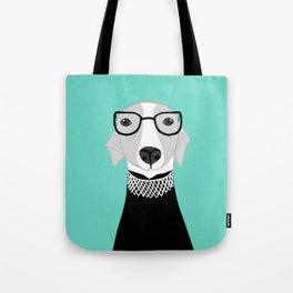 Ruth Bader Ginsburg Greyhound Tote Bag