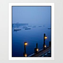 Camden Harbor, Maine - Color Art Print