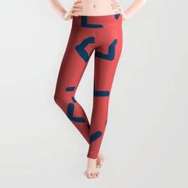 Boomerangs / V pattern Leggings