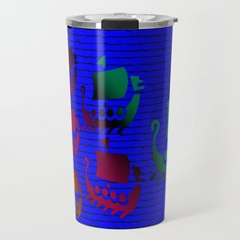 Phoenician navy force Travel Mug
