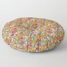 FLORAL // LIFE OF FLOWERS Floor Pillow