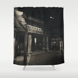 Ghost Town Shower Curtain