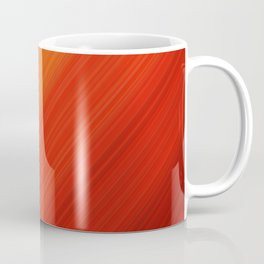 Linear Fire Coffee Mug