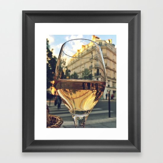 A Taste of Paris Framed Art Print