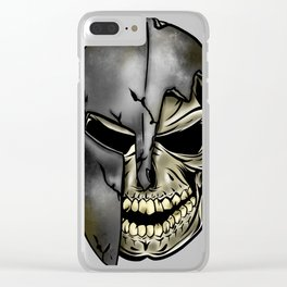 Spartans Never Die Clear iPhone Case