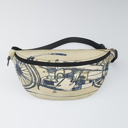 HD Motorcycle Patent - Circa 1924 Fanny Pack