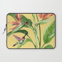 Bird of Paradise Yellow Laptop Sleeve
