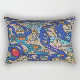 At The Apex Rectangular Pillow