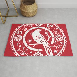 Traditional chinese paper cut Rug