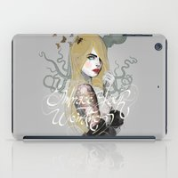 cara iPad Cases featuring Cara by lalinsan