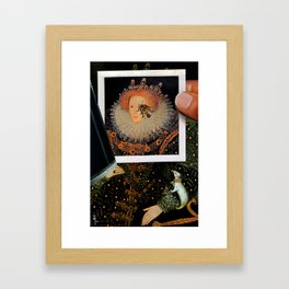 Everything We See Hides Another Thing Framed Art Print