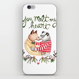 Melt My Heart iPhone Skin