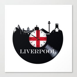 Liverpool City Canvas Print
