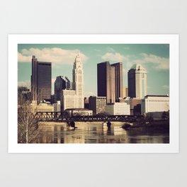 Columbus Ohio 4 Art Print