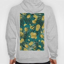Summer Lemon Twist Jungle #5 #tropical #decor #art #society6 Hoody